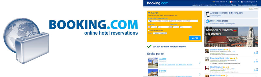 Booking prenotazione hotel