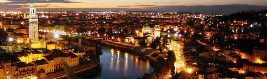 Vista su Verona
